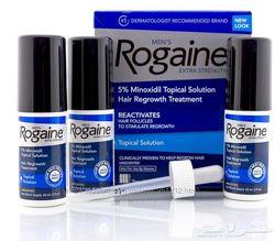 Миноксидил 5 Rogaine Регейн лосьон 3 флакона и дозатор