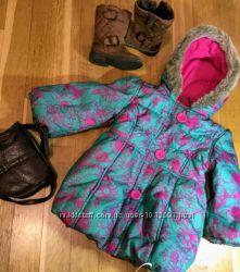 Удлиненная куртка плащ с яркой расцветкой