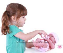 Пупс JC Toys Newborn Мечтатель с аксессуарами 36 см. Распродажа