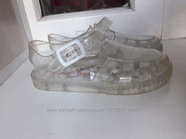 Босоножки, сандалии силиконовые George