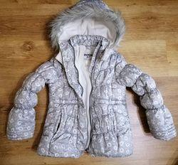 Зимняя теплая куртка Osh Kosh 5-6 лет