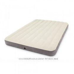 Матрац 64103 надувной Intex 152х203х25см, надувной матрац, матрас