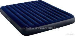 Матрац 64755 Intex надувной, размер 183x203x25 см двухместный, матрас