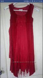 Нарядное платье натуральный бархат