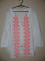 Вышиванка. Блузка в этно стиле с вышивкой