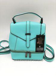 Рюкзаки, сумки Leather Country Италия, оригинал