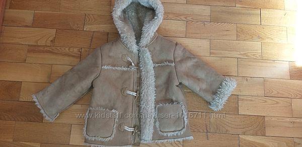Натуральна дублянка, курточка зимова