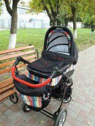 Детская коляска 3 в 1 бу