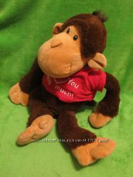 Обезьяна. мавпа. мартышка. обезьянка. мягка іграшка. мягкие игрушки. Keel toys