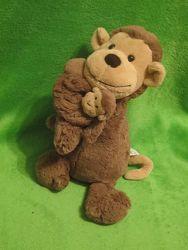 Обезьяна. мавпа. мартышка. обезьянка. мягкая игрушка. мягка іграшка. Jellycat