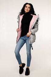 Куртка деми в красивых цветах р. 44-52