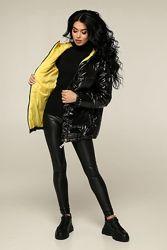 Демисезонная стеганая куртка цвета р. 44 46 48 50 52 54