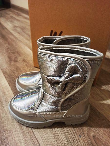 Зимние термо Ботинки для Девочки Weestep .