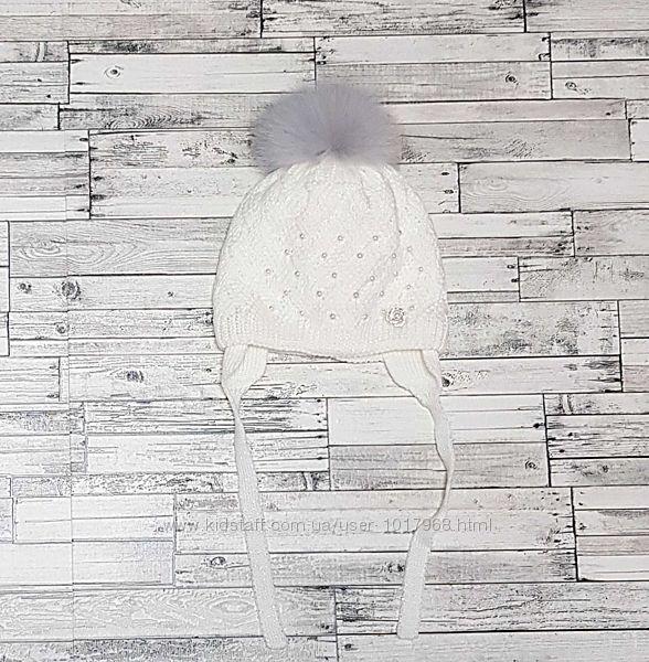 Красивая шапочка Davids Star р. 48-50