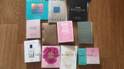 Пробники нишевой парфюмерии, миниатюрки, пробники косметики и тд