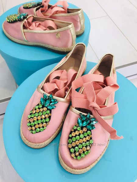 стильные туфли с ананасами Италия