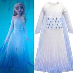 Карнавальный костюм платье Эльзы Эльза2 Анны туфли коса из холодное сердце