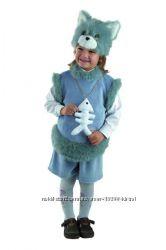 Карнавальные костюмы лиса, заяц, лев, снеговик, волк, еж, дракон, кот, кошк