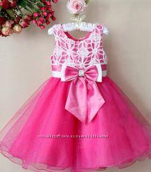 Шикарные, нарядные платья для девочки на выпускные, свадьбы, дни рождения
