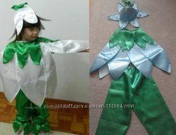 Карнавальный костюм подснежник нарцисс колокольчика тюльпана для мальчика