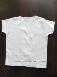 Белая футболочка Mothercare футболка р. 92 18-24 мес.