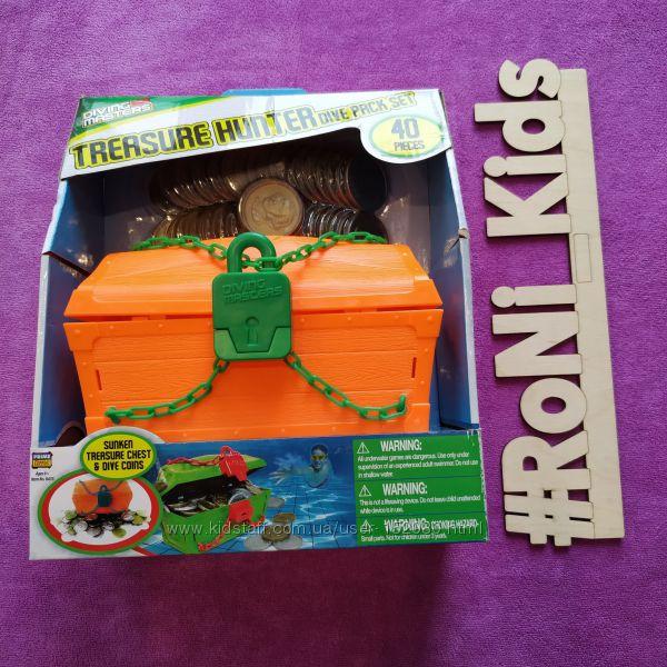 Уникальные тонущие игрушки для бассейна Сундук с сокровищами