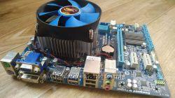 Комплект Материнская плата GA-B75M-D2V и процессор
