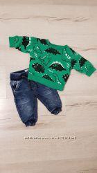 Next  набор джинсы свитшот