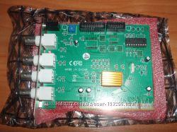 4 канальная PCI плата видеонаблюдения Conexant Fusion 878A в наличии