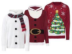 Рождественский свитер от LIVERGY с капюшоном  Германия