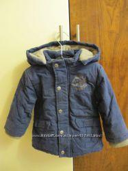 Продам теплую куртку Kanz осень-зима на мальчика