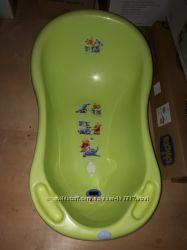 Мимишная Ванночка для купания ребёнка с термометром Tega Baby