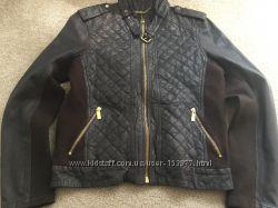 Женская кожаная куртка Michael Kors Оригинал США размер XL