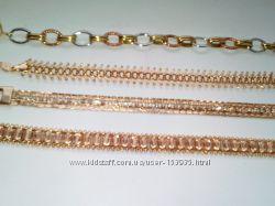Ювелирные позолоченные изделия gold filled В наличии