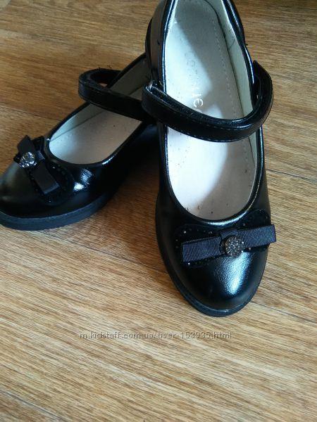 Туфли в школу, кожа