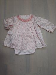 Боди-платье Mothercare 6-9 мес, 74 см