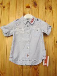 новая фирменная рубашка Kanz на мальчика. Оригинал. разм. 80