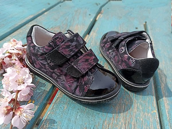 Новые кожаные  туфли Ricosta. разм. 23. Оригинал