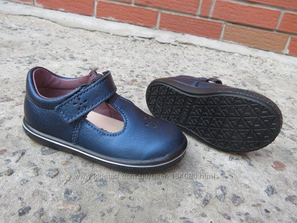 Новые кожаные закрытые туфли Ricosta. разм. 22 Оригинал