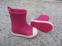 Новые резиновые сапоги Crocs Bump it Rain. разм. 28-34. оригинал