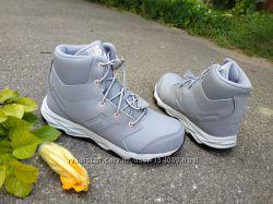 Новые демисезонные кожаные ботинки хай-топы New Balance. разм. 35