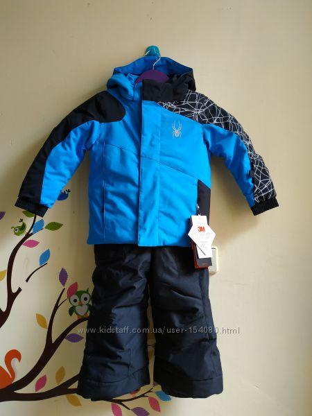 зимний лыжный комбинезон куртка Spyder и брюки Snow Dragons на 2года