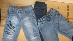 Трошки джинсів модному хлопчику р. 120-128 POLO ASSN, COOL CLUB, BENETTON,