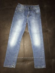 Классные узкие джинсы Zara 5-6-7 лет