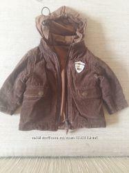 Английская утепленная 2-сторонняя куртка McGregor, 74р.