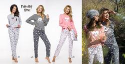 Taro пижамы, ночнушки 100 хлопок.  Новая коллекция осень-зима 2019-2020