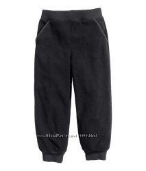 флисовые штаны H&M