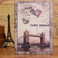 Чехол для iPad 2 3 4 Apple Carte Postale London