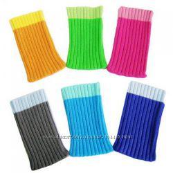 Чехол вязаный носок iPhone iPod. Разные цвета В наличии.