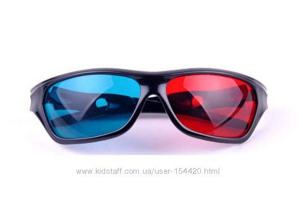 3D стерео очки анаглифные, профессиональной серии